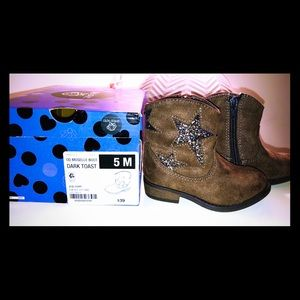 Toddler sparkle cowgirl boots